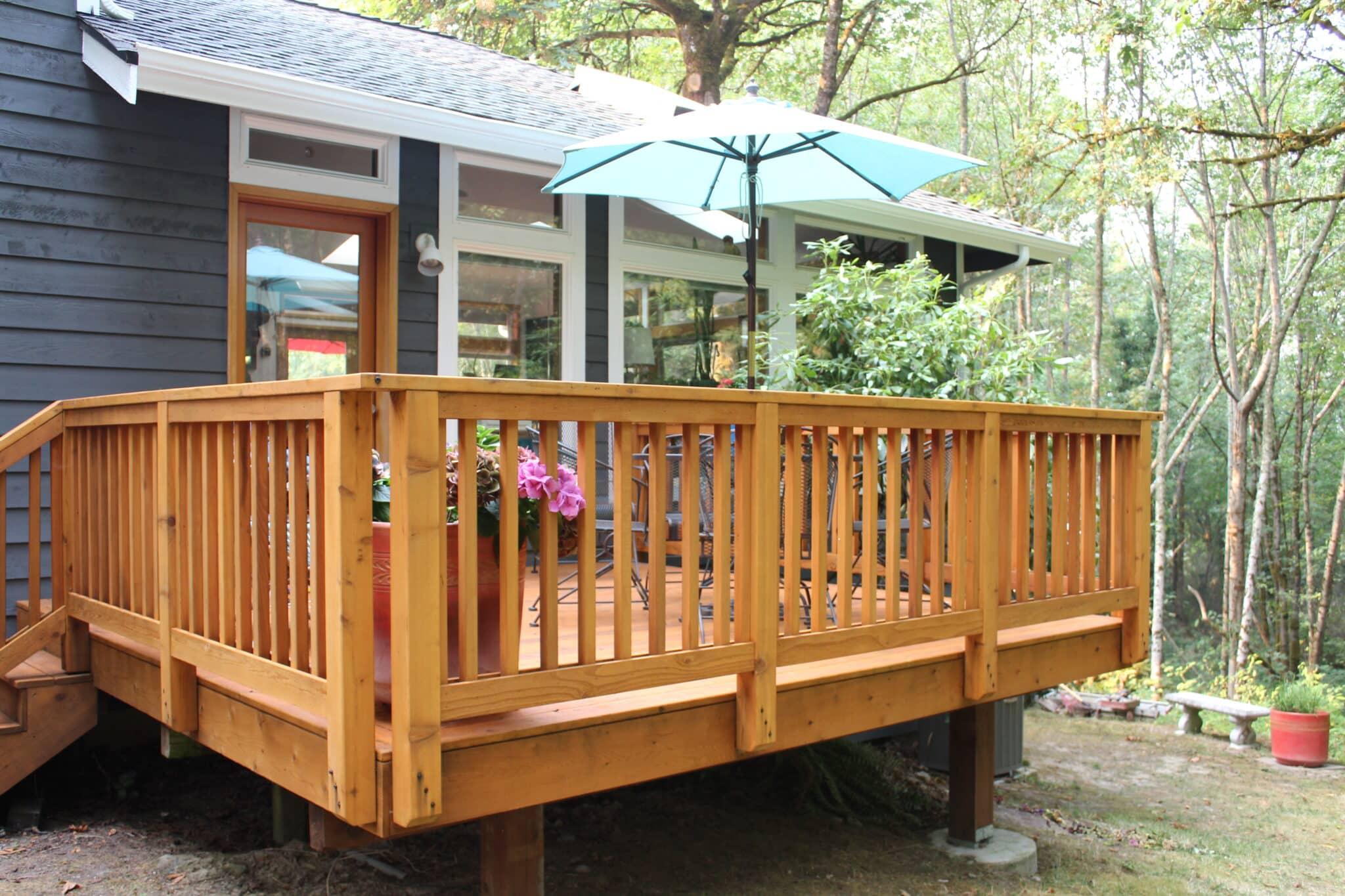 Wood Deck Installation Northwest Decks